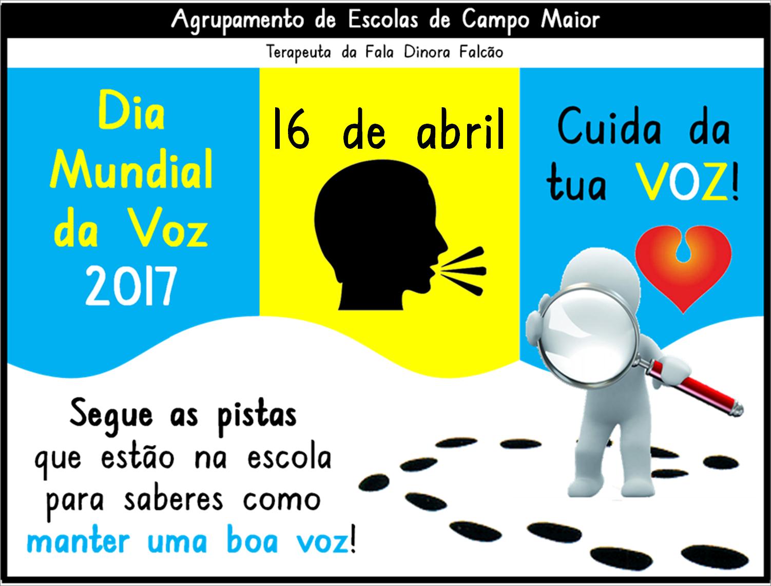 Dia Mundial da Voz 2017